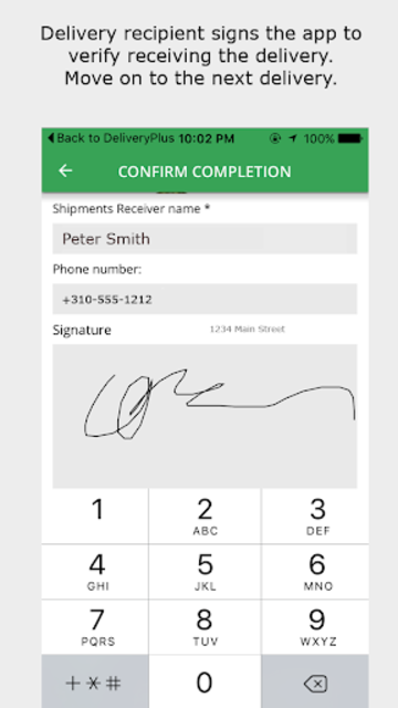 Delivery Plus Driver's App screenshot 5