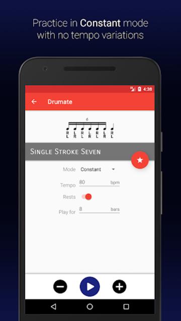 Drumate - Drum Rudiments screenshot 3