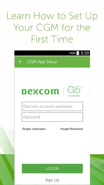 Dexcom G5 Mobile Simulator screenshot 3