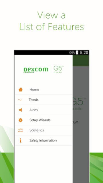 Dexcom G5 Mobile Simulator screenshot 5