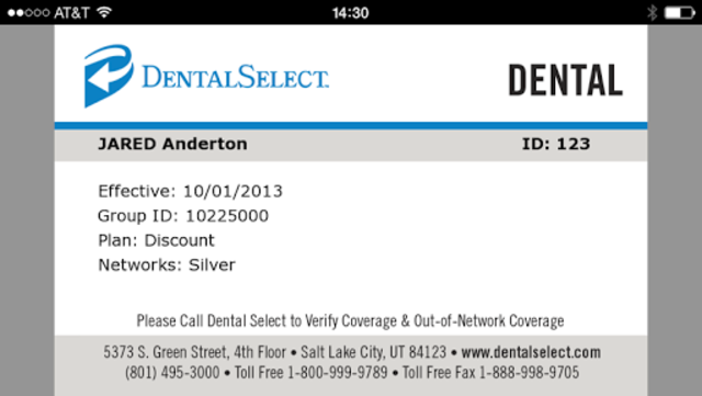 Dental Select Mobile ID screenshot 5