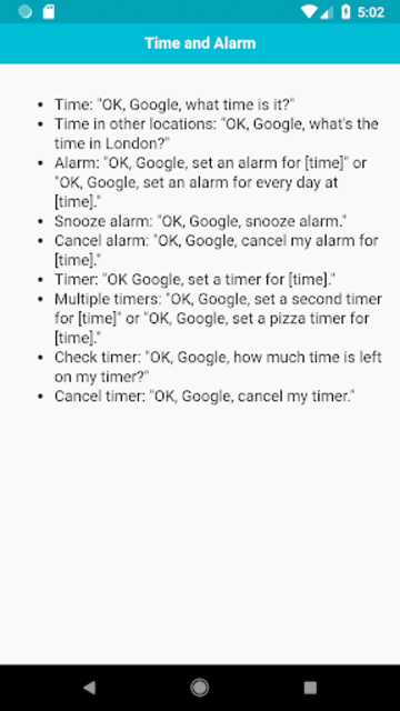 Complete Commands for Google Home Mini screenshot 4