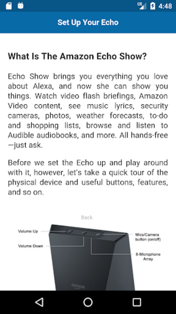 Complete guide for Echo Show screenshot 2