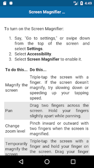 Complete guide for Echo Show screenshot 4