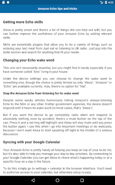 Complete guide for Echo Show screenshot 7