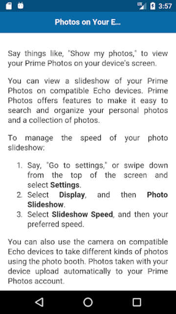 User Guide for Echo Spot screenshot 4