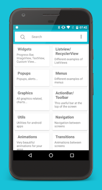 Libraries for developers screenshot 1