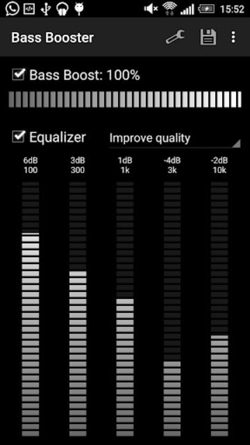 Bass Booster screenshot 1