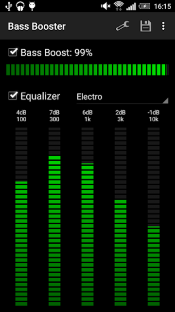 Bass Booster screenshot 4