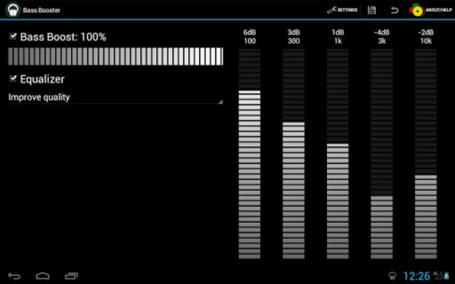 Bass Booster screenshot 5