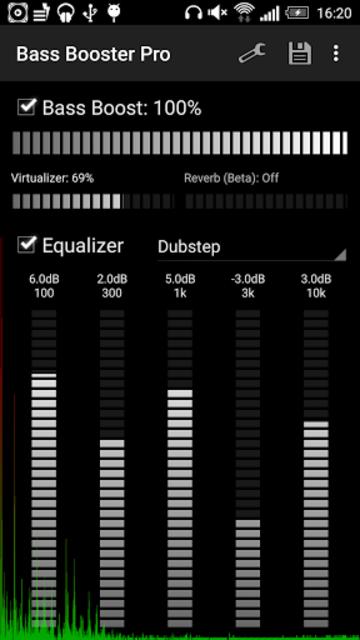Bass Booster Pro screenshot 1