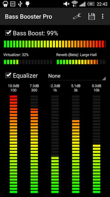 Bass Booster Pro screenshot 2