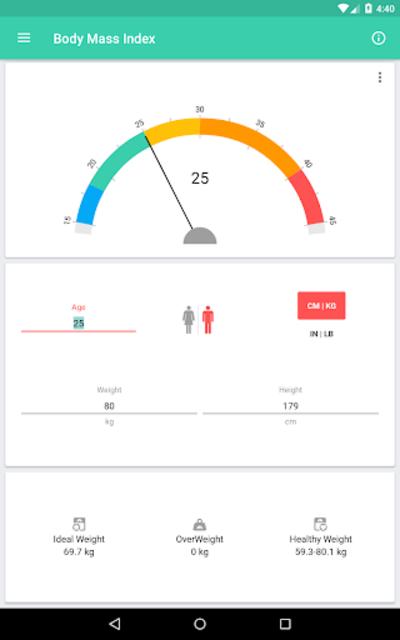 BMI and Weight Tracker screenshot 13