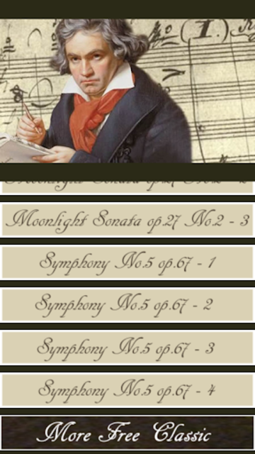 Beethoven Symphony screenshot 3