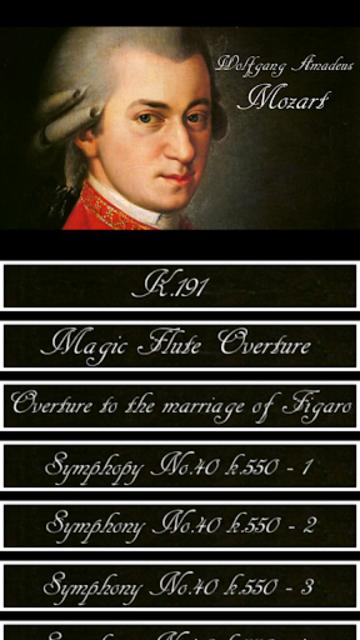 Mozart Symphony screenshot 1