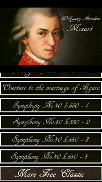 Mozart Symphony screenshot 3