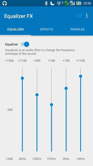 Equalizer FX. Pro screenshot 1