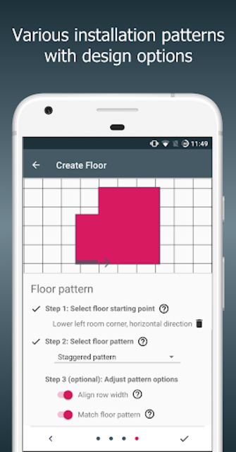 Floor Calculator: Plan & install flooring screenshot 8