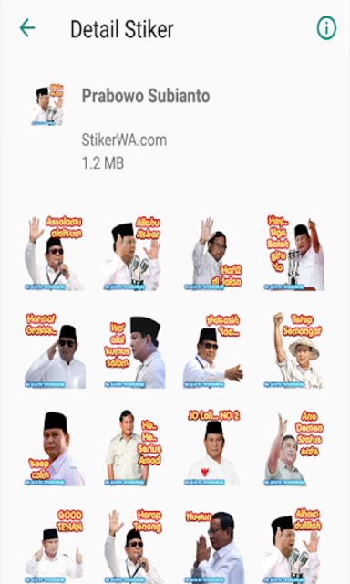 Stickers Wa Indonesia