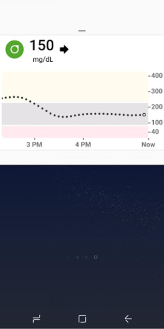 Dexcom G6 screenshot 2