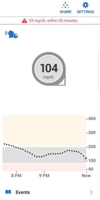 Dexcom G6 screenshot 3