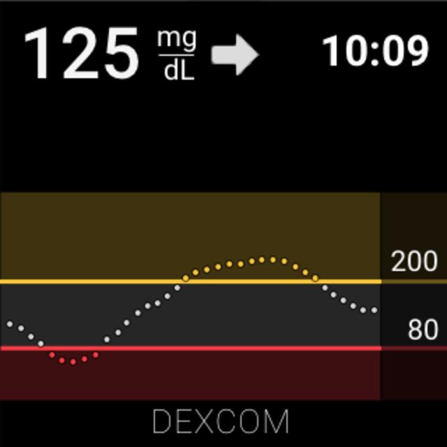 Dexcom G6 screenshot 7