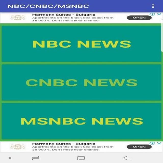 MSNBC NEWS LIVE screenshot 1