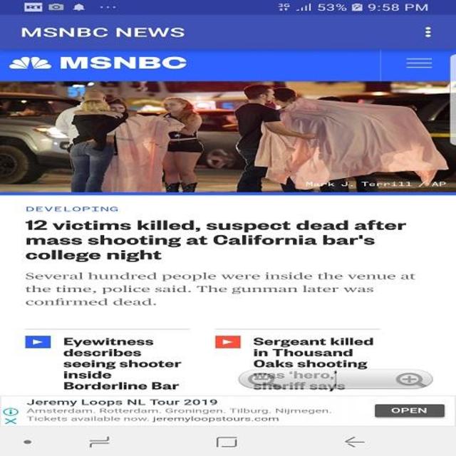 MSNBC NEWS LIVE screenshot 2
