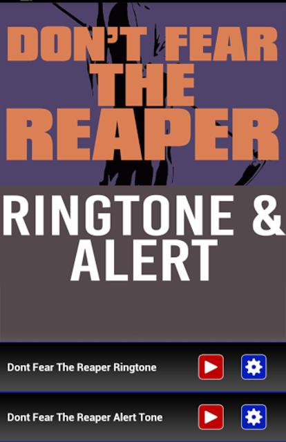 Don't Fear The Reaper Ringtone screenshot 1