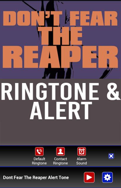 Don't Fear The Reaper Ringtone screenshot 2