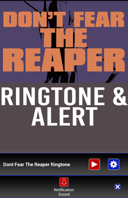 Don't Fear The Reaper Ringtone screenshot 3