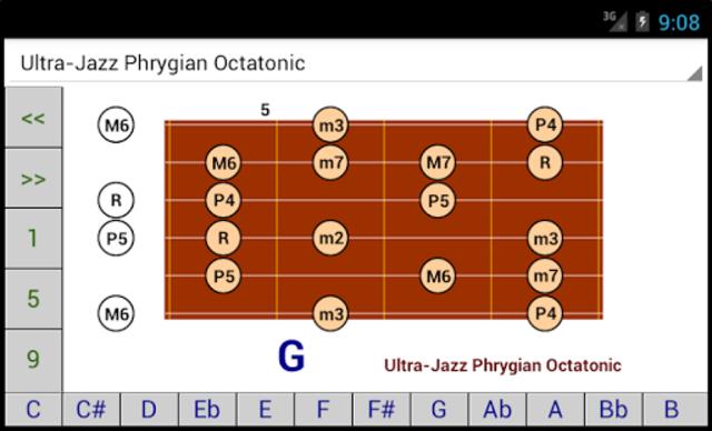 DG Guitar Scales screenshot 1