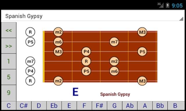 DG Guitar Scales screenshot 2