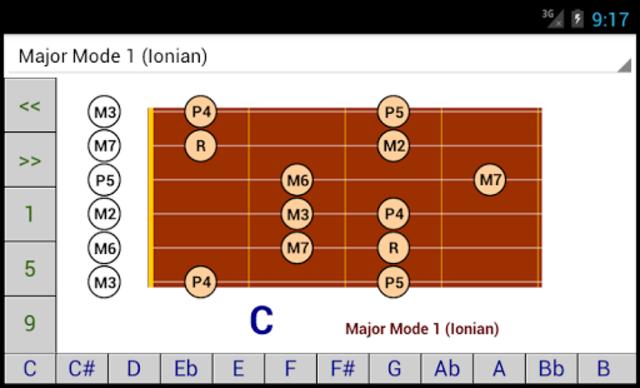 DG Guitar Scales screenshot 3