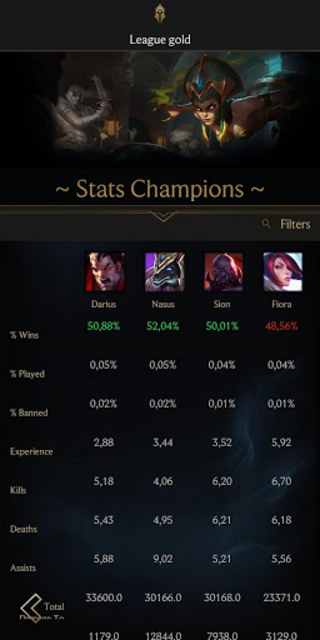 LoL Stats - League of Legends screenshot 3