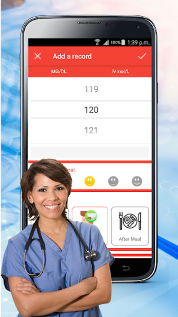Blood Sugar Check : Diabetes Tracker Glucose Test screenshot 1
