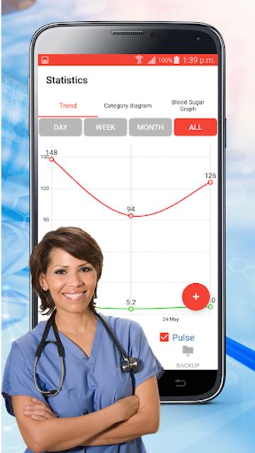 Blood Sugar Check : Diabetes Tracker Glucose Test screenshot 3