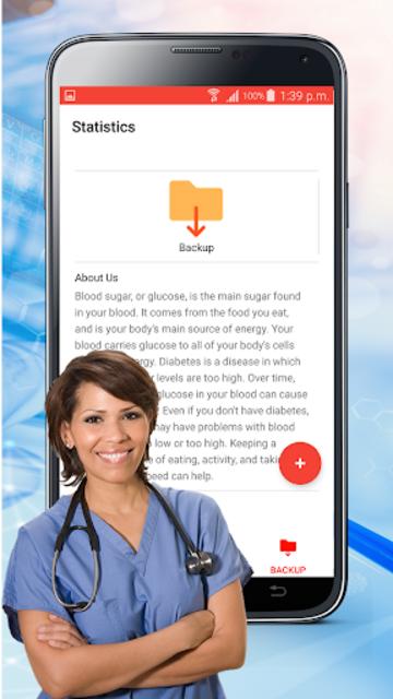 Blood Sugar Check : Diabetes Tracker Glucose Test screenshot 12