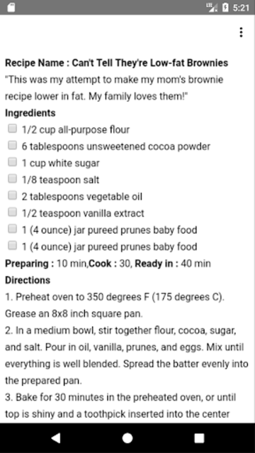 Top 10 Diabetic Dessert Recipes screenshot 3