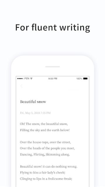 PenCake - Note, Diary, Journal, Writer screenshot 2
