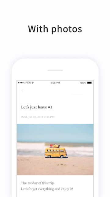 PenCake - Note, Diary, Journal, Writer screenshot 4