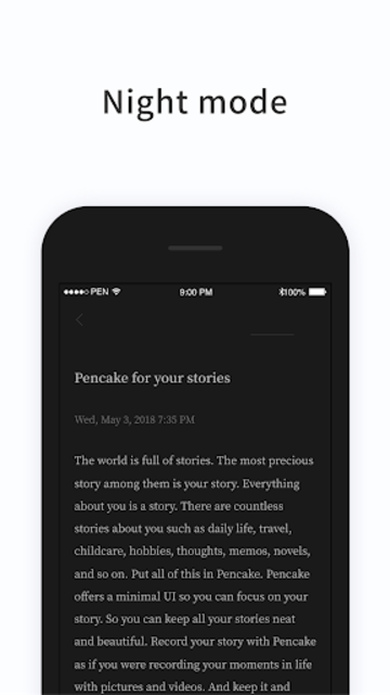 PenCake - Note, Diary, Journal, Writer screenshot 6