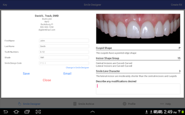 Smile Guide Touch Pro screenshot 2