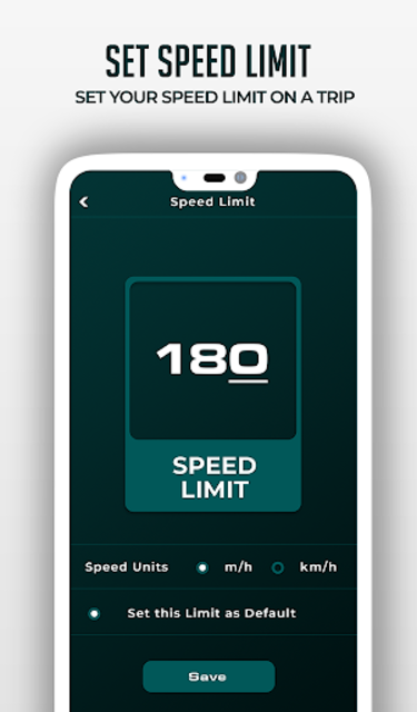 HUD Speedometer Digital: GPS, Speed Limit Widget screenshot 5