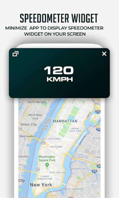 HUD Speedometer Digital: GPS, Speed Limit Widget screenshot 21