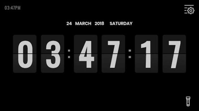 Flip Clock Pro - Digital Desk Clock screenshot 2