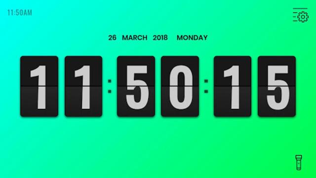 Flip Clock Pro - Digital Desk Clock screenshot 7