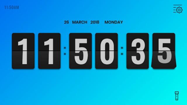 Flip Clock Pro - Digital Desk Clock screenshot 8