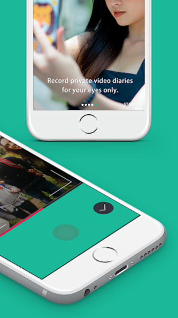 Vournally - Video Diary, Journal, Vlog with PIN screenshot 2