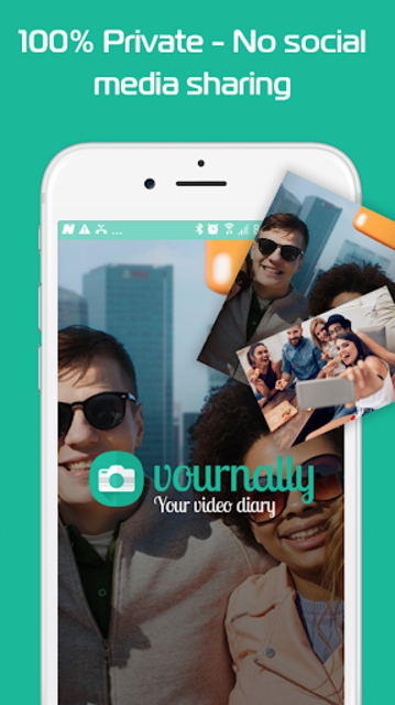 Vournally - Video Diary, Journal, Vlog with PIN screenshot 3